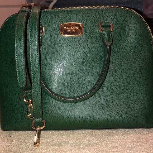 6043059e4762 Emerald green Michael Kors purse. M_5cc275bcd948a1ea2834a655